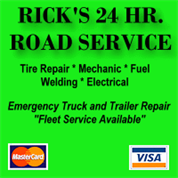 Rick's 24 Hour Road Service