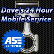 Dave's 24 Hour Mobile Service