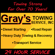 Gray's Towing Service, Inc.